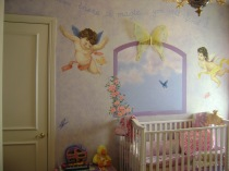 Angelic baby room