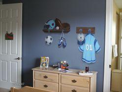 Boy's room sport theme