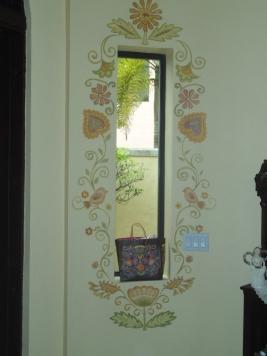 Playful window decoration