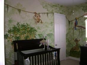 Jungle nursery