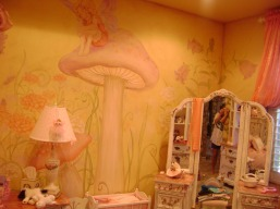 Dreamy fairytale girl's room