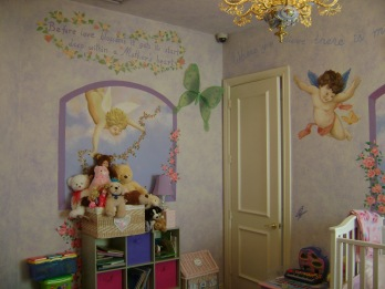 Visited by Angels and butterflies nursery