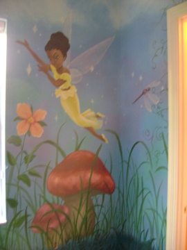 Land of the Fairies girl's room