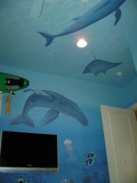 Underwater world nursery