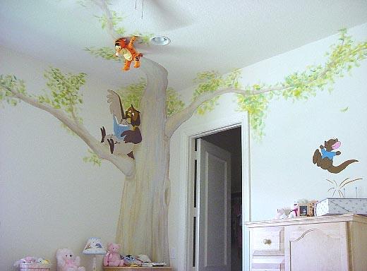 Winnie the Pooh baby room