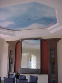 Sky in dining room