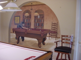 mancave-mural-tom-cruise-pool