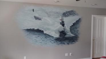 submarine-mural