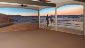 sunset-beach-mural