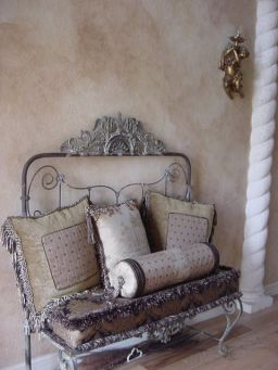 French country style foyer