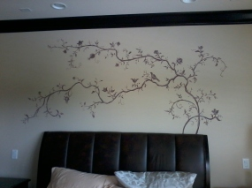 Graceful and delicate branch added as an accent