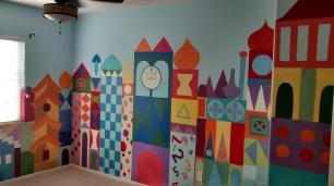 Disney's Small World theme nursery