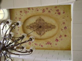 French country ceiling decor