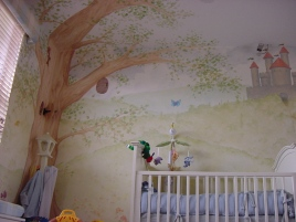 Fairytale baby room