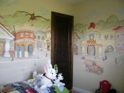 Tiny town boy's room