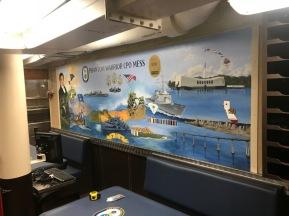 San-Diego-military-mural-artist-navy-muralist-Art-by-Beata-USS-Hamilton-mess-deck