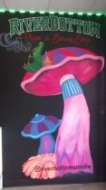 San-Diego-muralist-vape-shop-mushroom-mural-smoke-business-logo-Art-by-Beata